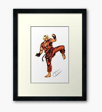 Street Fighter Ken Framed Print