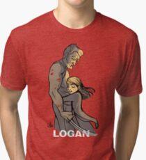 Logan Wolverine Tri-blend T-Shirt