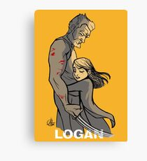 Logan Wolverine Canvas Print