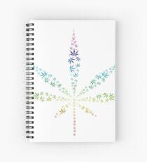 Cannabis Spiral Notebook