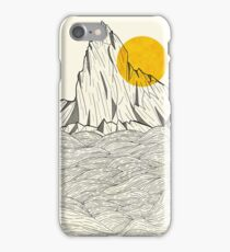 Sun Cliffs iPhone Case/Skin
