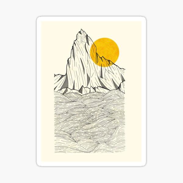 Sun Cliffs Sticker