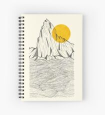 Sun Cliffs Spiral Notebook