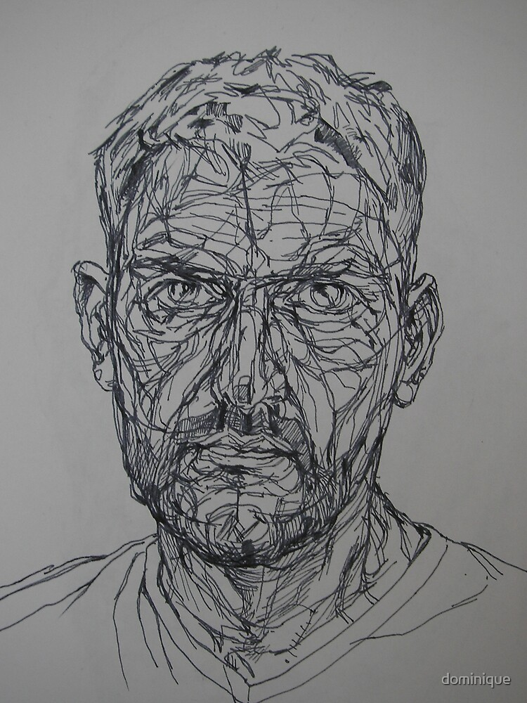 autoportrait by dominique