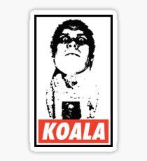 Obey the Giant Koala Sticker