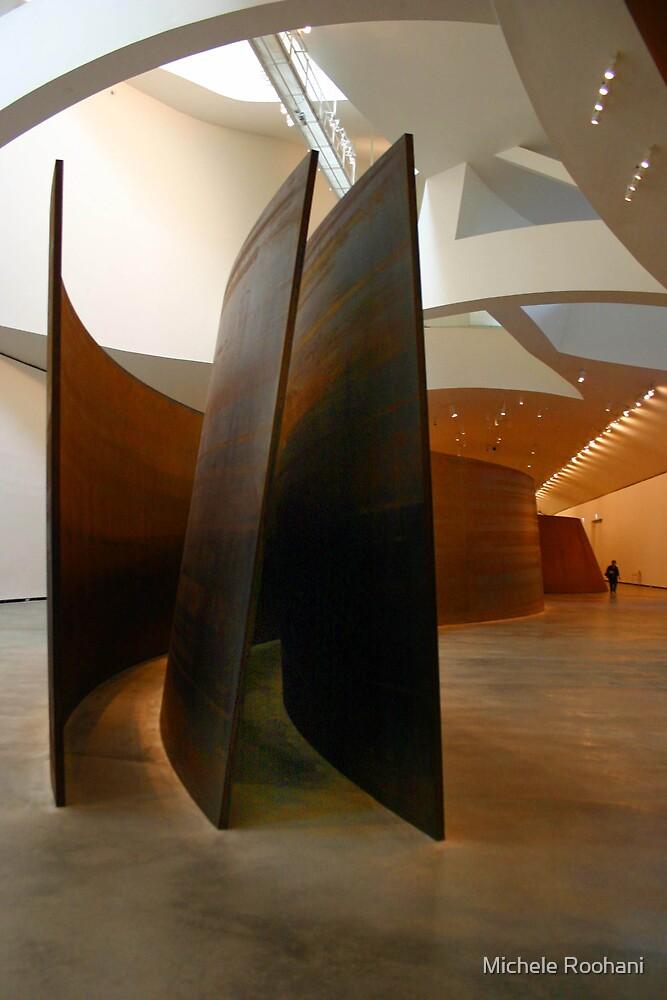 Richard Serra at the Guggenheim by Michele Roohani