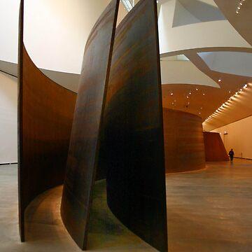 Richard Serra at the Guggenheim by micheleroohani