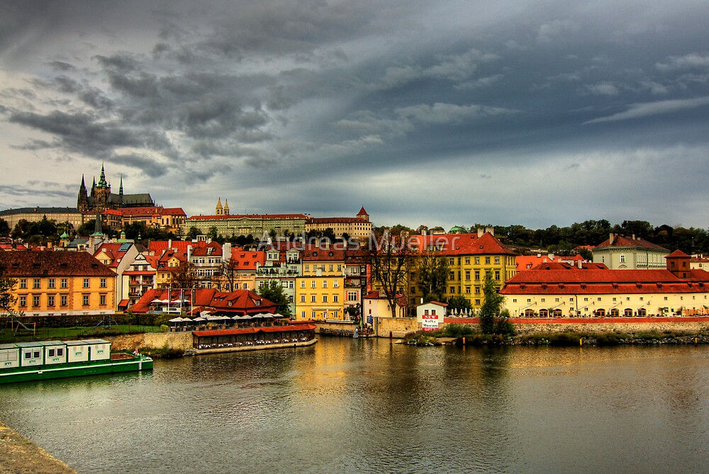 Prague Castle by Andreas Mueller