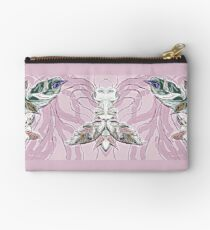 Cute alien insect - pink Studio Pouch