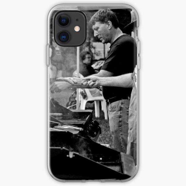 BBQ & Snags iPhone Soft Case