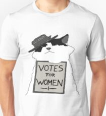 Votes For Women Cat Unisex T-Shirt
