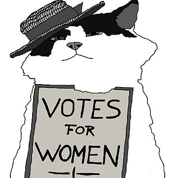 Votes For Women Cat by djalicat