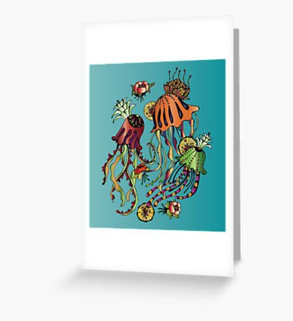 meduses Greeting Card