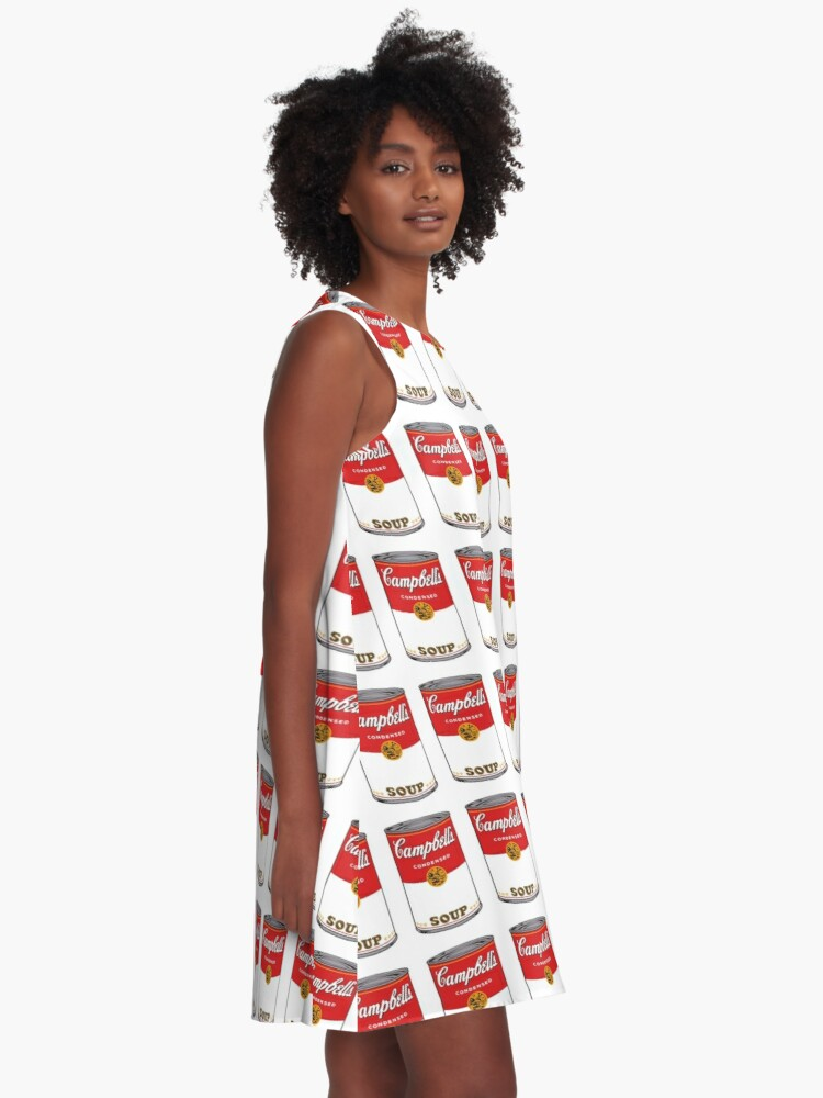 Alternate view of Campbell Soup A-Line Dress