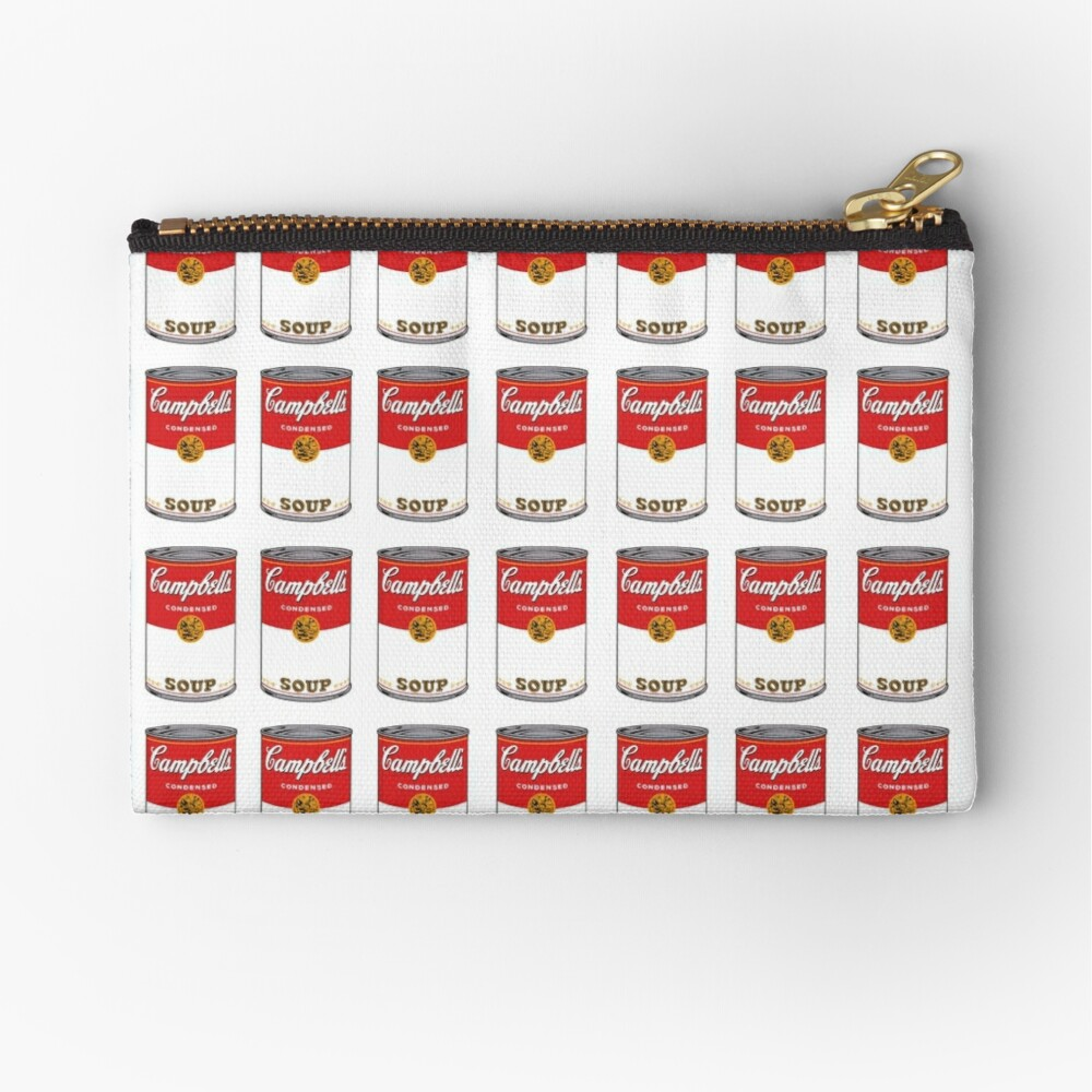 Campbell Soup Zipper Pouch