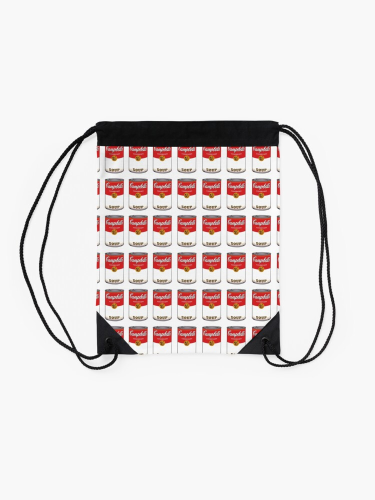 Alternate view of Campbell Soup Drawstring Bag