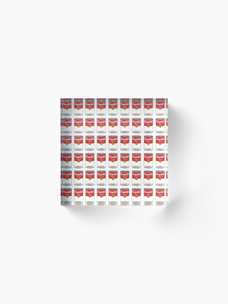 Alternate view of Campbell Soup Acrylic Block