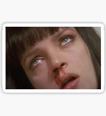 PULP FICTION // BLOODY NOSE Sticker