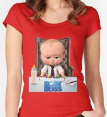 The Boss Baby Templeton Women's Fitted Scoop T-Shirt