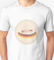 American Native Vector Illustration Canoe Unisex T-Shirt