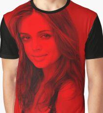 Eliza Dushku - Celebrity (Modeling Pose) Graphic T-Shirt