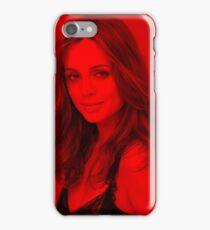 Eliza Dushku - Celebrity (Modeling Pose) iPhone Case/Skin