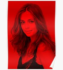 Eliza Dushku - Celebrity (Modeling Pose) Poster