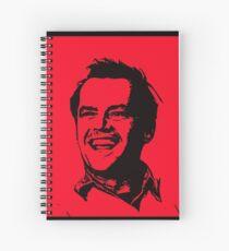 Jack Nicholson Spiral Notebook