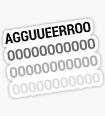 Aguero Sticker