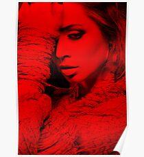 Eliza Dushku - Celebrity (Thinking Pose) Poster