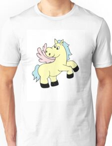Vector illustration of baby pony. Isolated cartoon animal Unisex T-Shirt