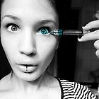 I've always wanted blue eyes by Rebecka Wärja