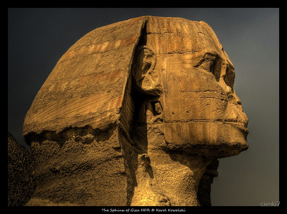 The Sphinx of Giza HDR by cienki7