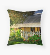 Cockman House- Wanneroo W.A Throw Pillow