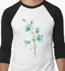 spring blue flowers. watercolor T-Shirt