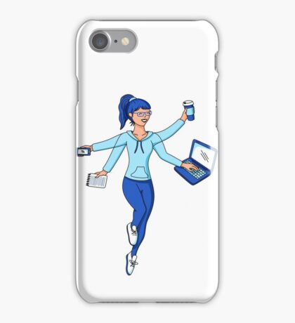 Super Freelance Woman iPhone Case/Skin