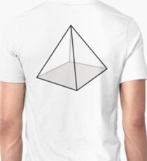 PYRAMID, Square, Geometry, Triangle Unisex T-Shirt