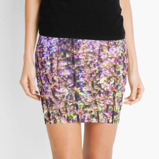 Cardonna Salvia Mini Skirt
