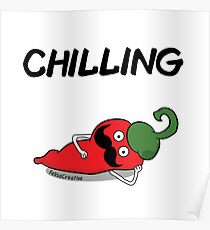 Chilling Poster