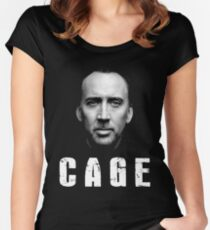 Nicolas Cage Iconic Women's Fitted Scoop T-Shirt