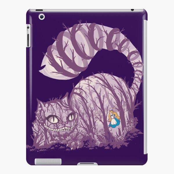 Inside wonderland (cheshire cat) iPad Snap Case