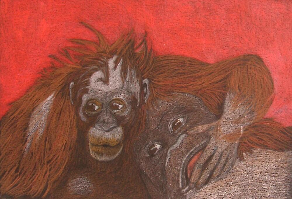 Monkeys by Catherine Brock
