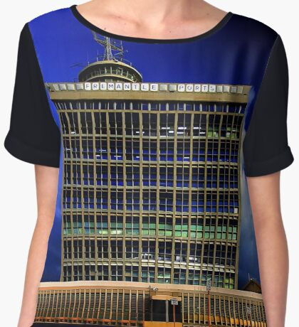 Fremantle Port Authority Building  Women's Chiffon Top