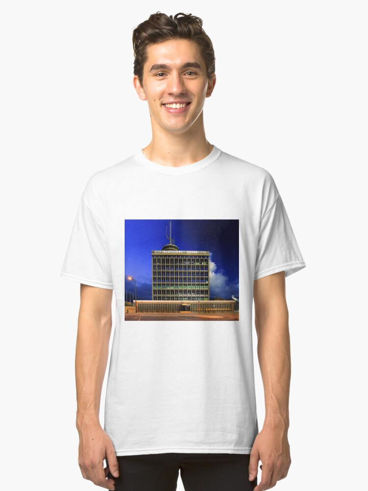 Fremantle Port Authority Building  Classic T-Shirt Front