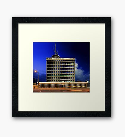 Fremantle Port Authority Building  Framed Print