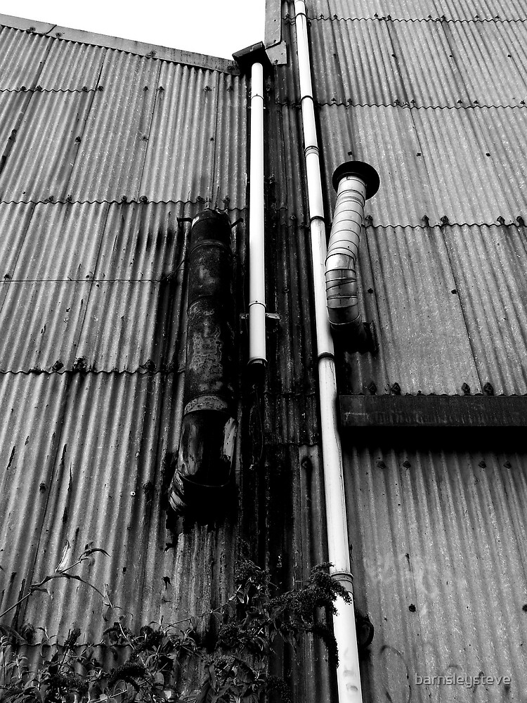 black and white pipes by barnsleysteve
