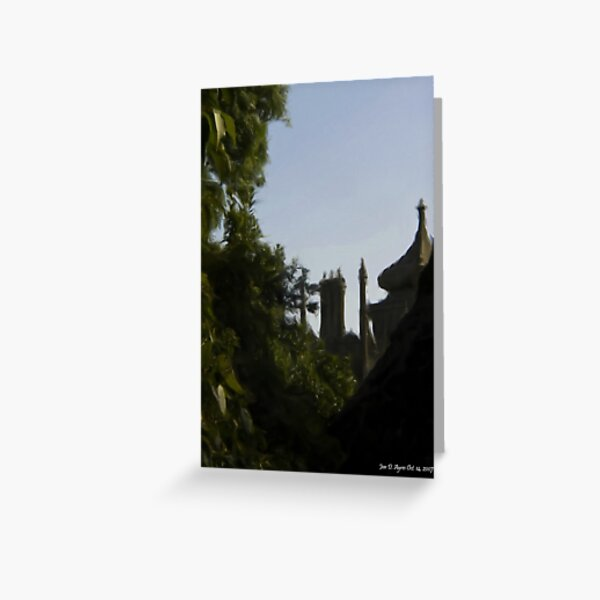 At Last! Alupka Palace in the Distance Greeting Card
