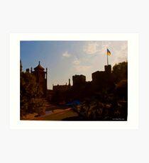 Alupka Palace At Last! Art Print