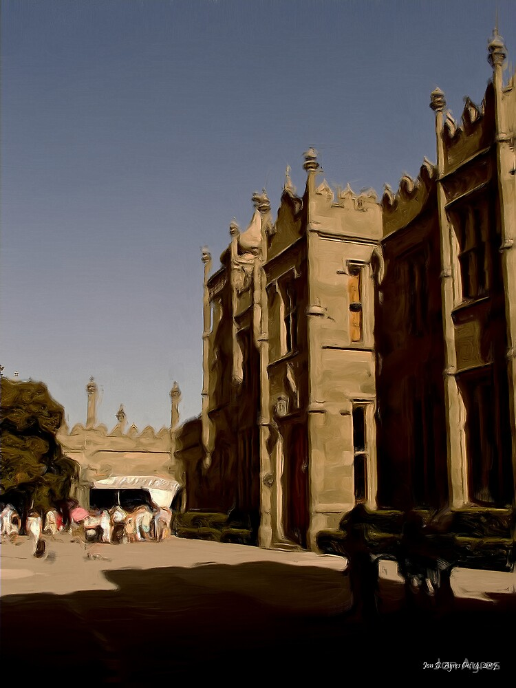 The Northen Front of Alupka Palace by Jon Ayres
