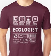 ECOLOGIST Will travel T-Shirt